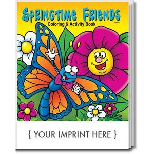 Springtime Friends Coloring Book