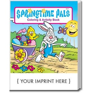 Springtime Pals Coloring Book