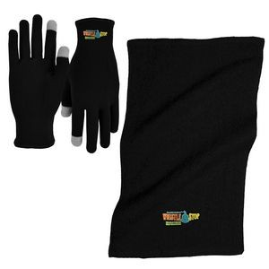 Sports Performance Runners Text Gloves and Rally Towel Combo
