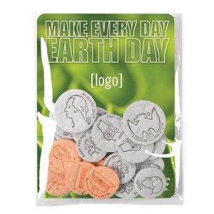 Earth Day Seed Money Coin Pack (10 coins) - Stock Design P