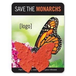 Save the Monarchs- Mini Seed Paper Shape Gift Pack