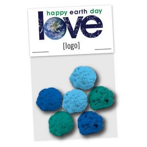 Earth Day Seed Bomb Cello Bag, 6 Pack - Stock Design G