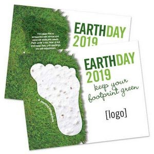 Seed Paper Shape Postcard - Earth Day