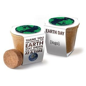 Earth Day Mini Planting Kit - Wrap with Medallion
