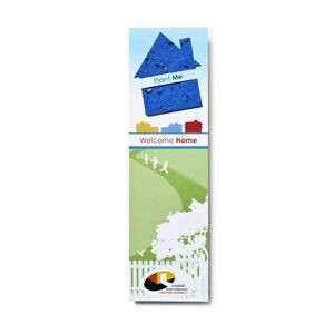 Seed Paper Shape Bookmark - House Style 1 Shape