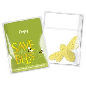 Pollinator Mini Seed Paper Shape Gift Pack